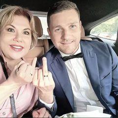 Федункив вышла замуж за молодого итальянца