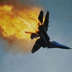Российский Су-35 загорелся через 20 минут после взлёта