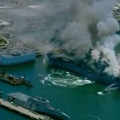 Американский военнослужащий уничтожил корабль ВМС США