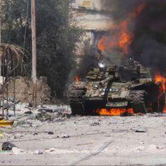 Армения уничтожила Т-90 ударом артиллерии
