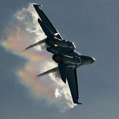 Раскрыты «курьезные» подробности крушения российского Су-35С