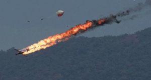 В Сирии сбит неизвестный российский летательный аппарат
