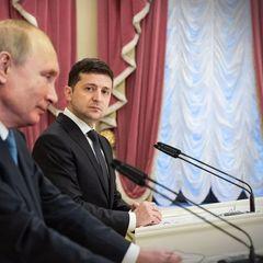 На Украине объяснили, почему Зеленский нуждается в Путине