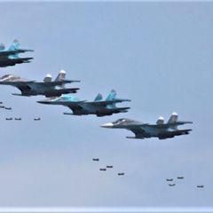ВКС России разбомбили турецкий военный конвой на севере Сирии