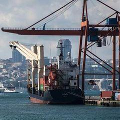 Российский сухогруз столкнулся с турецким судном в Босфоре