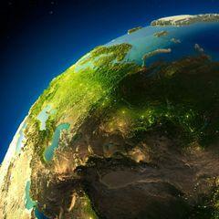 Земля ведет себя